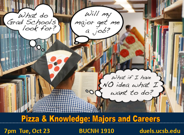 Pizza and Knowledge Flyer
